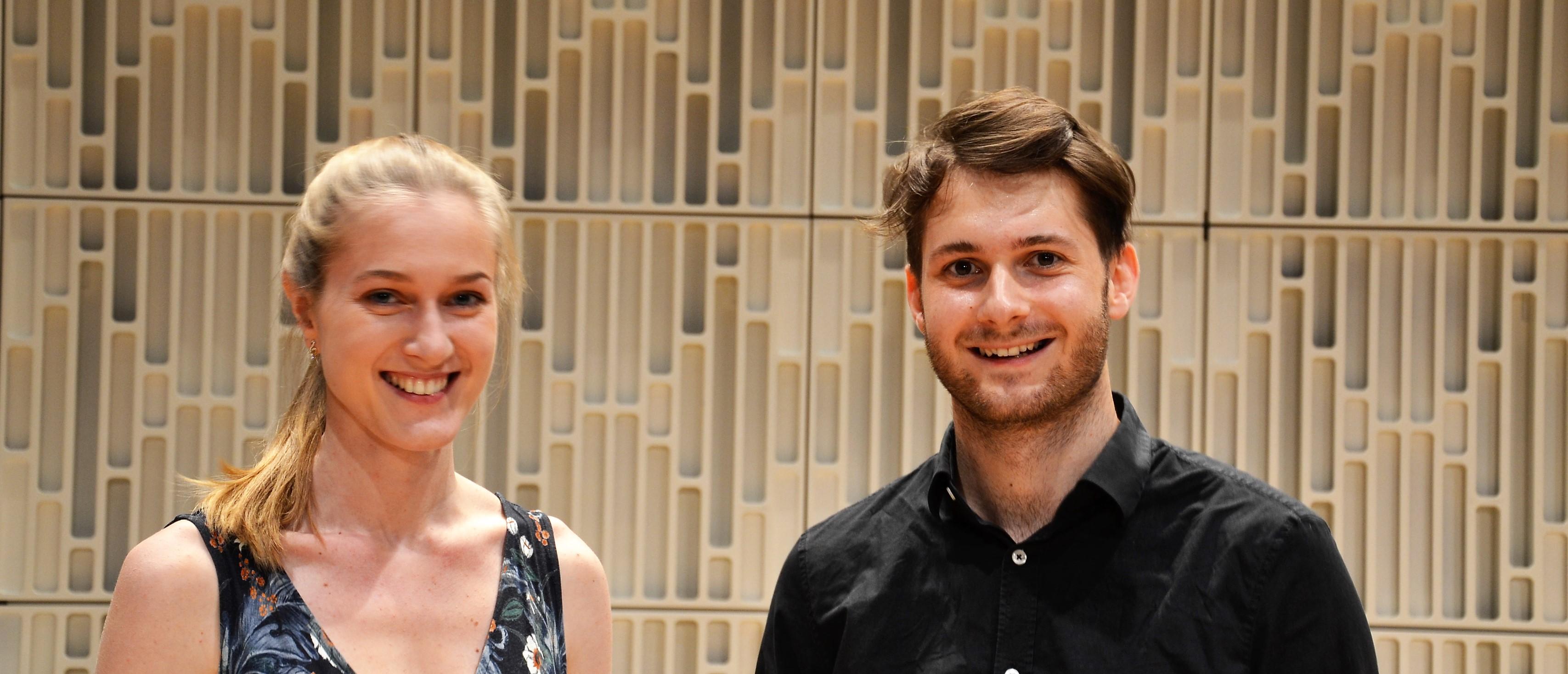 Anna Maier und Sebastian Galli bei Klassik in Jeans am Freitag, 28. Mai 2021, 19:00 Uhr