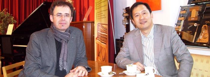 China! Gespräch mit dem größten Klavierhändler der Welt
