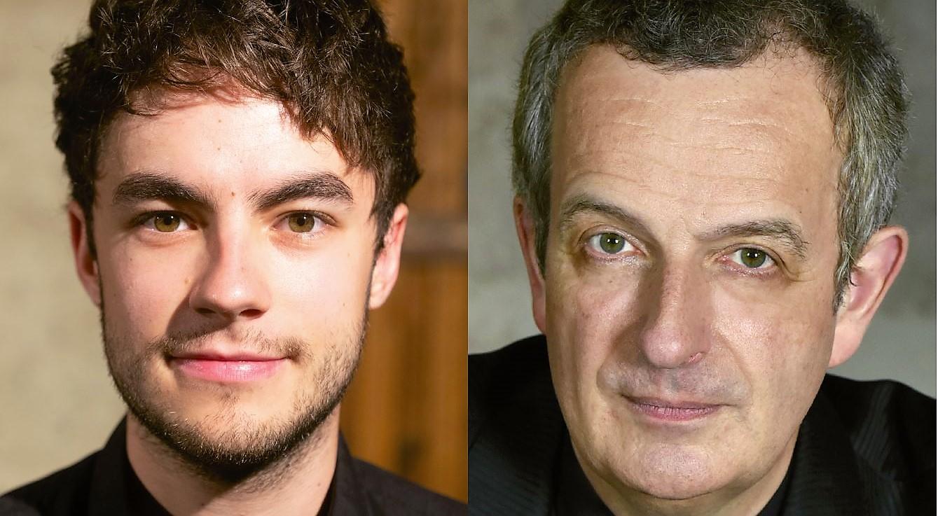 Sebastian Schleindlhuber & Michael Kostick bei Klassik in Jeans, Fr, 3.5.19, 19 Uhr